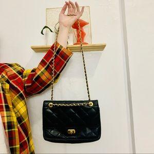 Vintage   1980s Susan Gail Genuine Leather Handbag